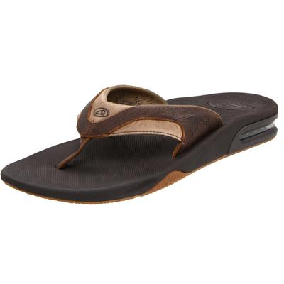 Men's Leather Fanning Sandal