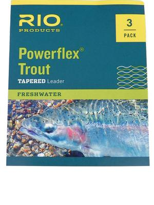 POWERFLEX KNOTLESS LEADERS 9FT 3PK