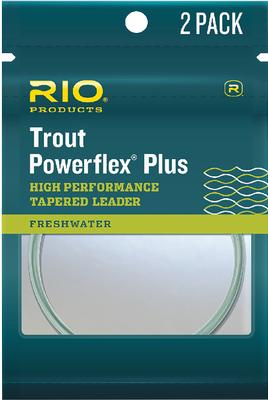 Powerflex Plus Leader 9' 9.5 lb Test (2 Pack)