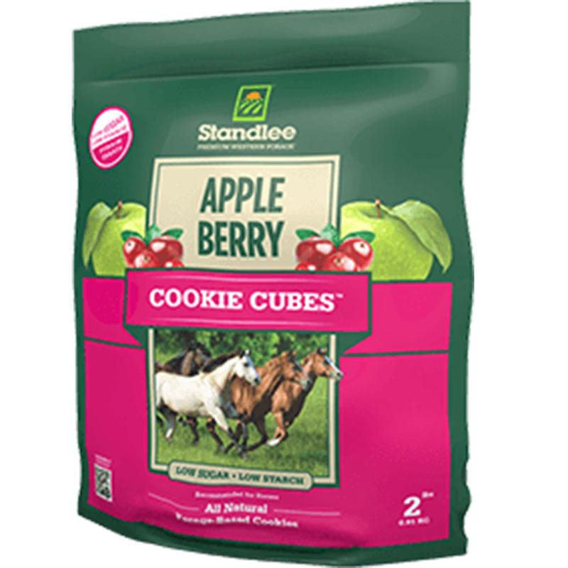 Apple Berry Cookie Cubes - 5 Lb