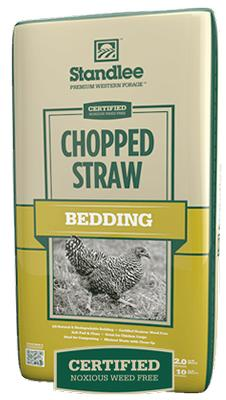 Certified Chopped Straw