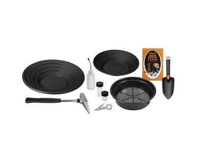 Yukon Deluxe Gold Panning Kit with Pick