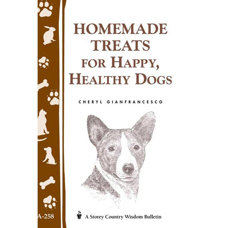 Homemade Treats For Happy Healthy Dogs