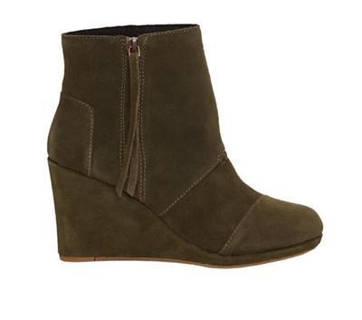 Women's Desert High Wedge Suede Shoe