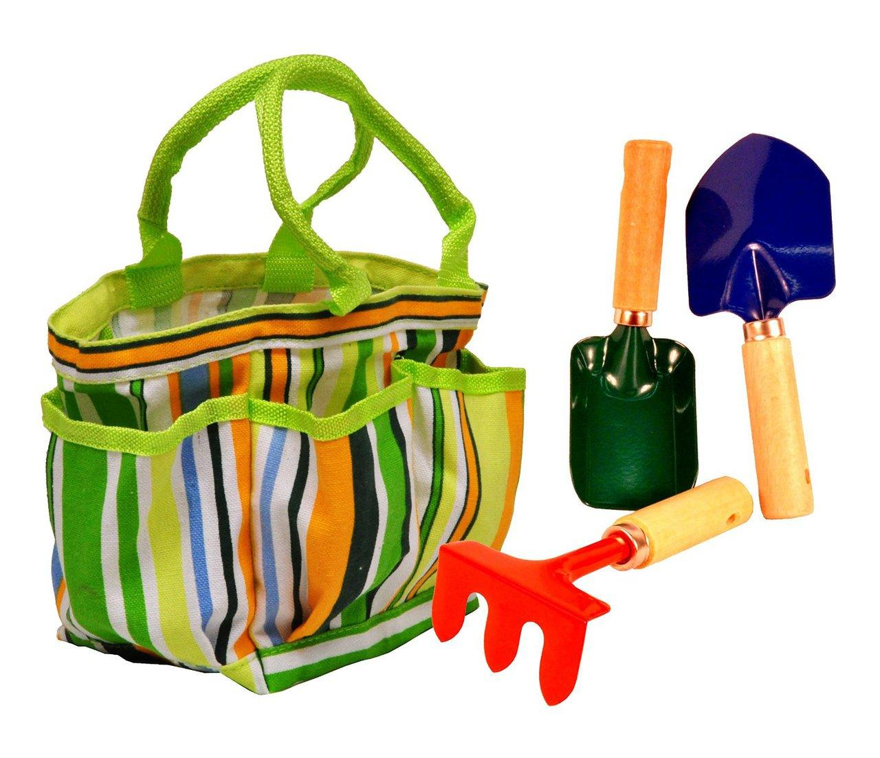 Kids ' Garden Tote With Tools