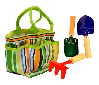 Kids' Garden Tote With Tools