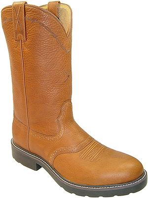 Men's Cowboy Work Pullon Boots