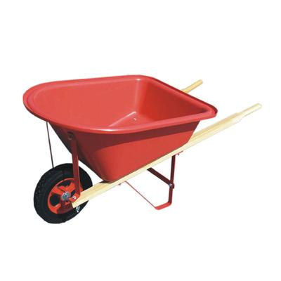 Kids' Poly Wood Handle Red Wheelbarrow