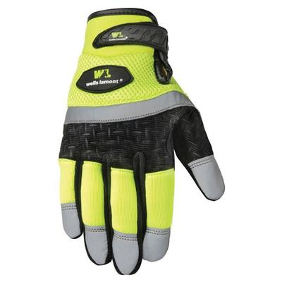 Men's Hi Viz Hi Performance Gloves