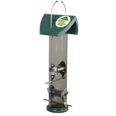 Going Green Clear Tube Bird Feeder