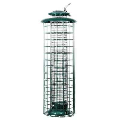 Bird Feeder Tube Caged