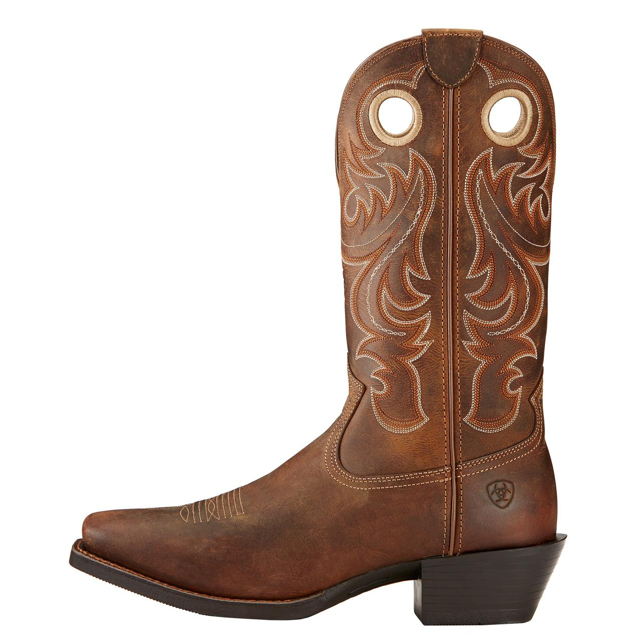 Men's Sport Square Western Toe Boot