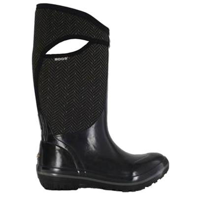 Women's Plimsoll Herringbone Tall Boot