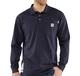 Men's Flame- Resistant Work Dry Cotton Long Sleeve Polo Shirt