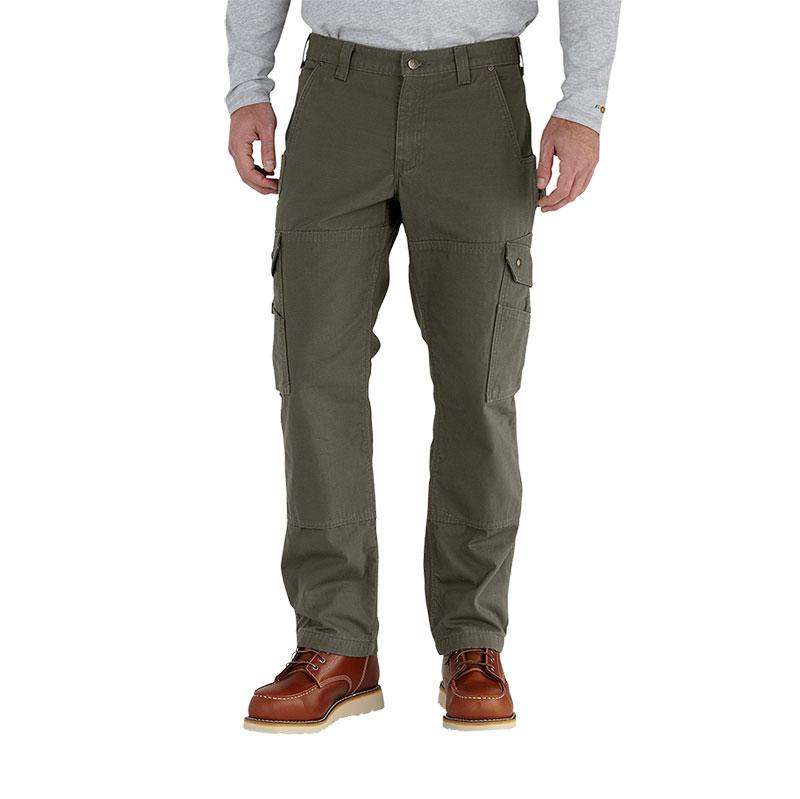 Men's Flannel- Lined Ripstop Cargo Pant