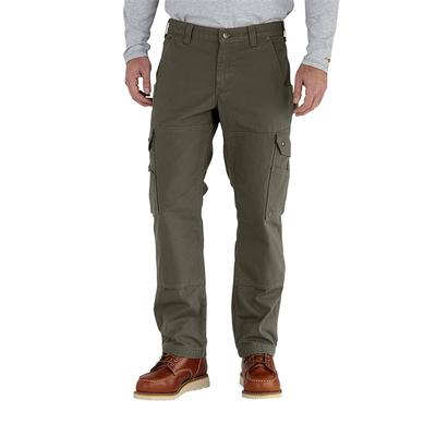 Men's Flannel-Lined Ripstop Cargo Pant