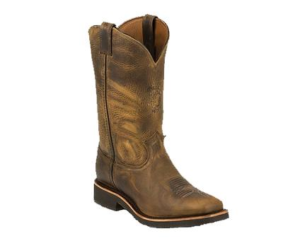 Mens Soronto Sand Square Toe Western Boot