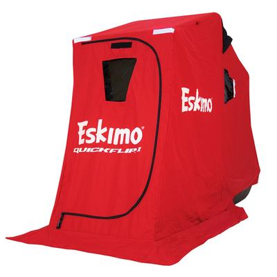 Eskimo Quickflip 1 Ice Fishing Sled Shelter