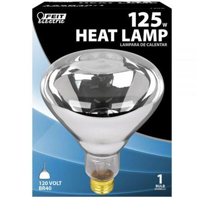 125 Watt Incandescent R40 Heat Lamp