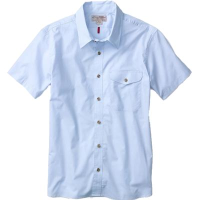 Men's Seasonal Short Sleeve Feather Cloth Shirt