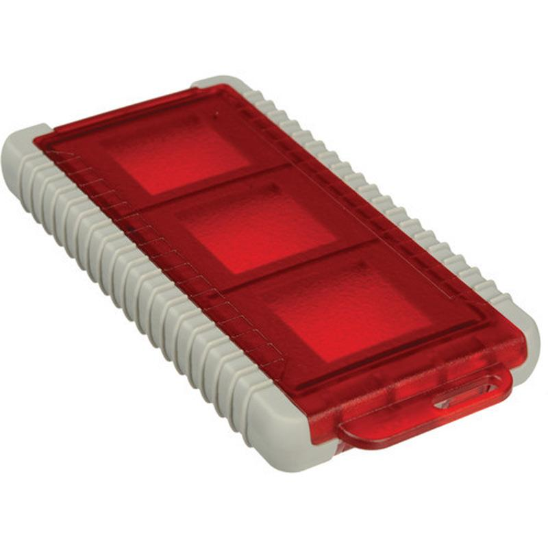 Mini Card Safe Red