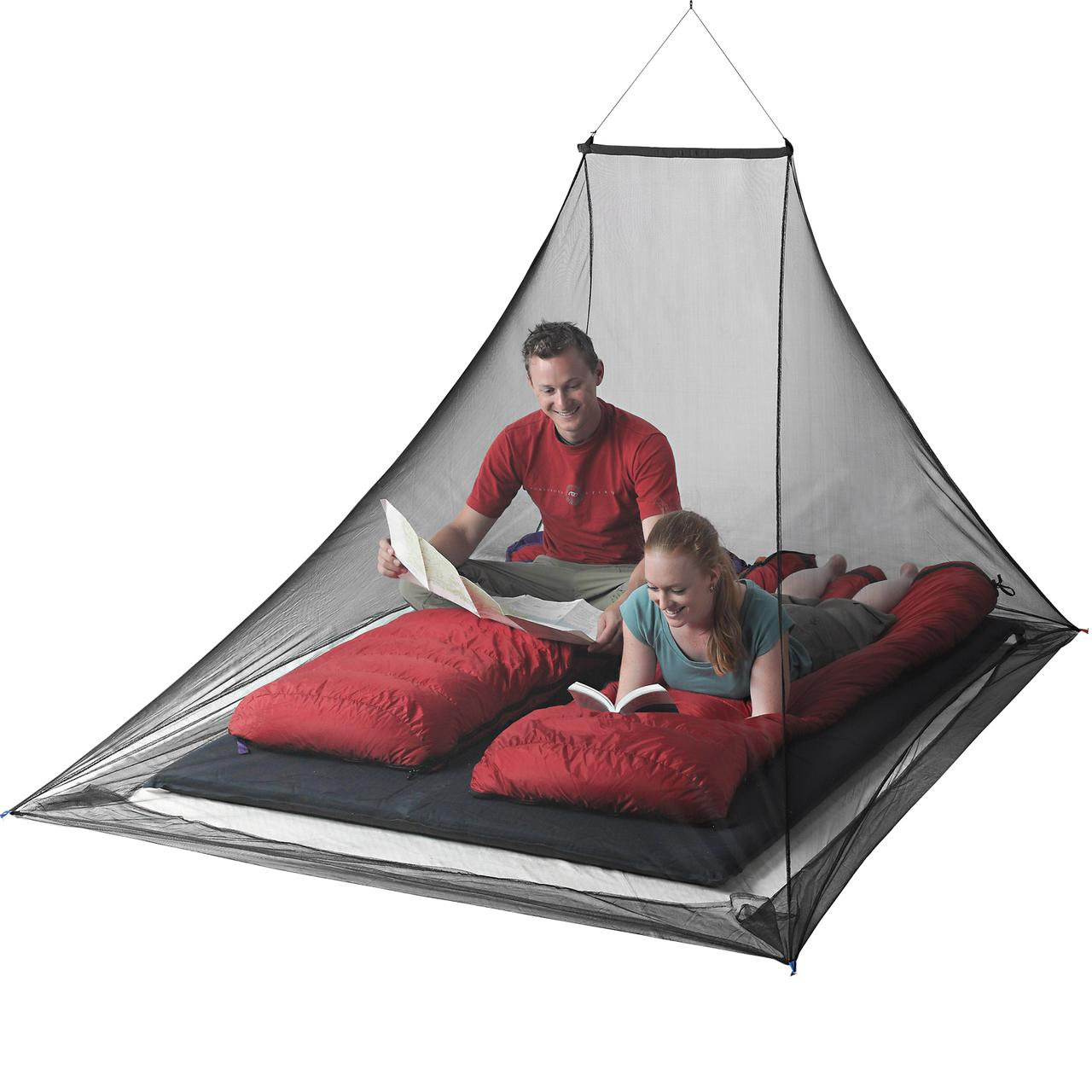 Mosquito Pyramid Net Double Shelter - Insect Shield