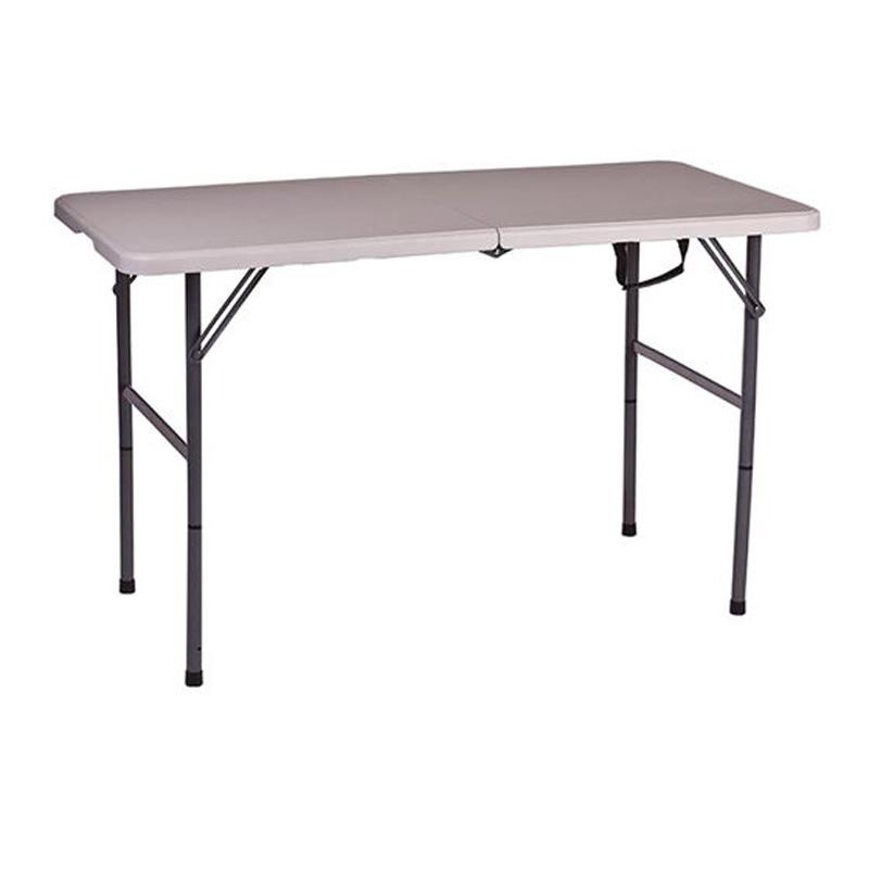 Adjustable Leg Folding Table