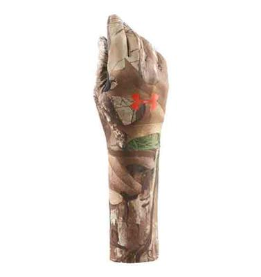 Boy's UA ColdGear® Camo Liner Gloves