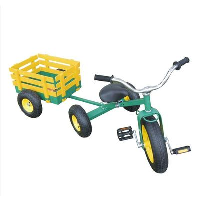 All Terrain Tricycle with Wagon