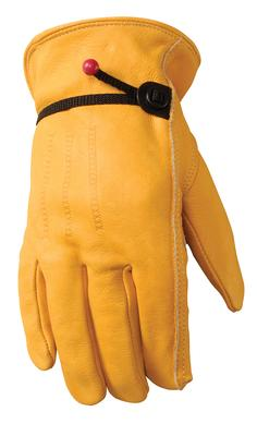 Men's Cowhide Palm Patch Gloves