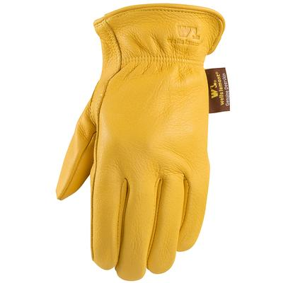 Men's Deerskin Shirred Gloves
