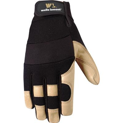 Men's Work Gloves with Grain Pigskin