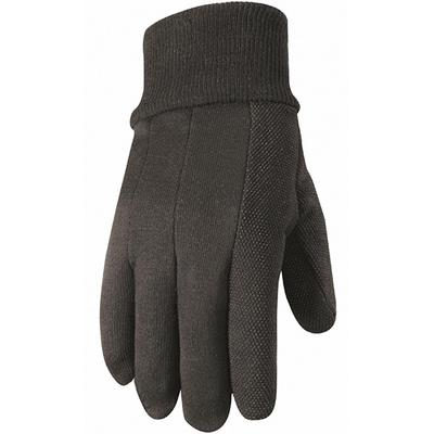 Unisex Hob Nob® Dotted Jersey Gloves