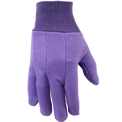 Women's Gloves Jersey Cotton Dotted