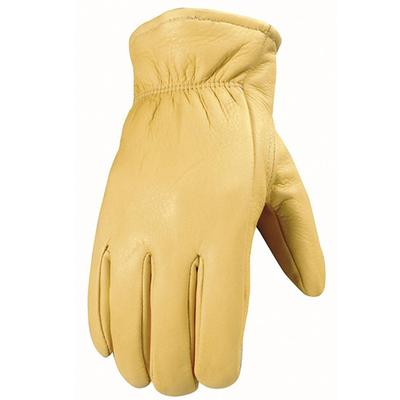 Men's Insulated Grain Deerskin Gloves