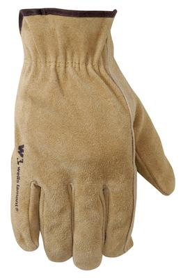 Men's Suede Cowhide Palm Patch Gloves