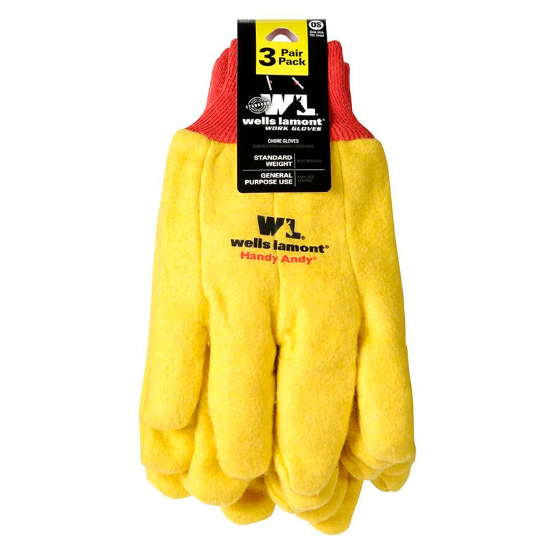 Men's Handy Andy Chore Gloves - 3 Pack
