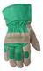Kid's Leather Suede Palm Cuff Gloves