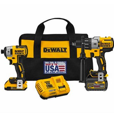 FLEXVOLT® Hammerdrill & Impact Driver Kit