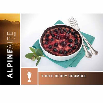 Three Berry Crumble Dessert