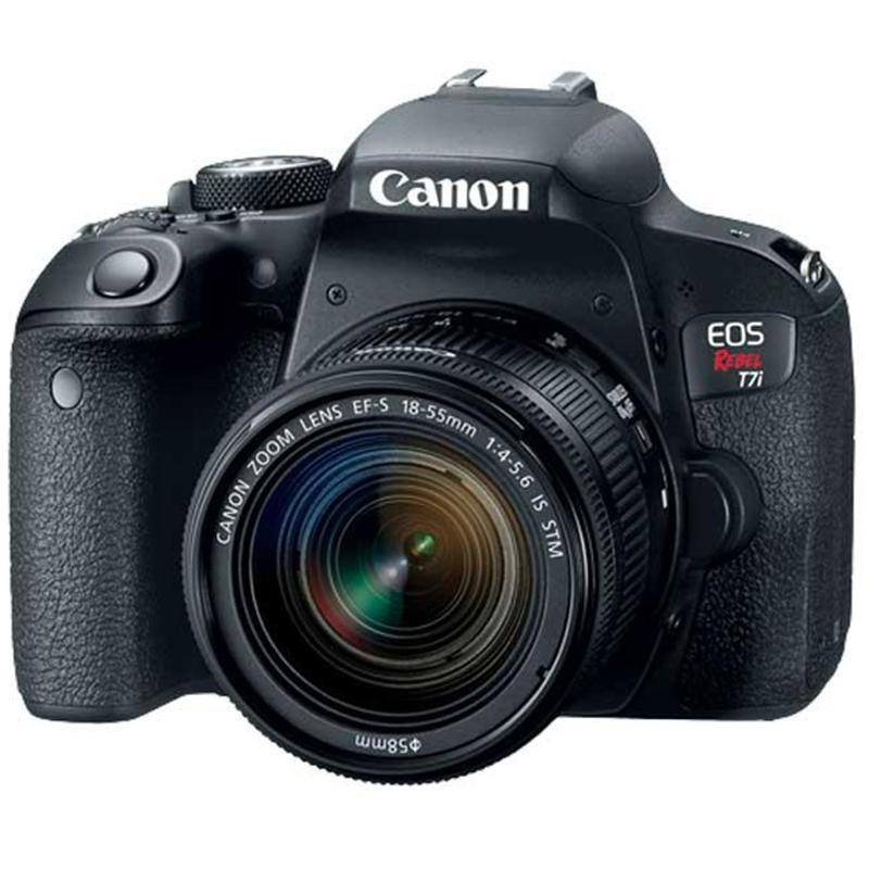 Eos Rebel T7i Ef- S 18- 55mm Is Stm Lens Kit