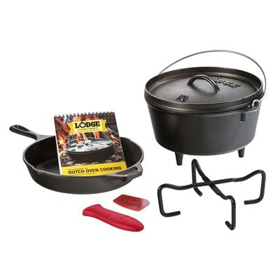 7 Piece Cast Iron Camp Set