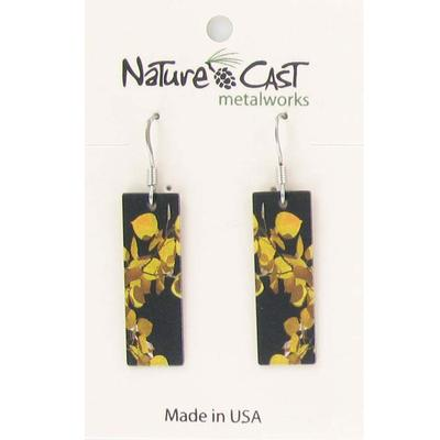 Women's Dangle Aspen Leaves Earring