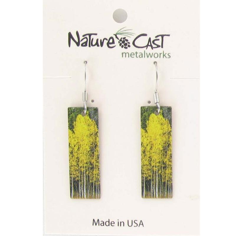 Women's Dangle Aspen Tree Cluster Earring