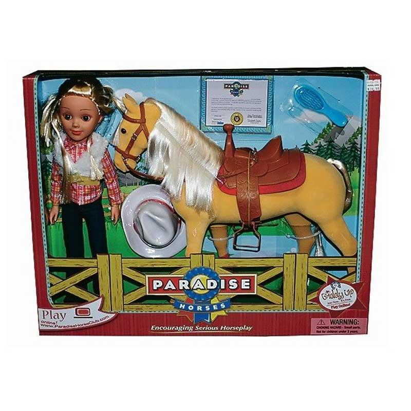 Doll And Horse Set 16