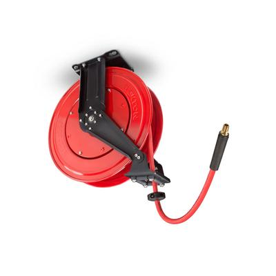 3/8 Inch I.D. x 50 Foot Dual Arm Auto Rewind Air Hose Reel