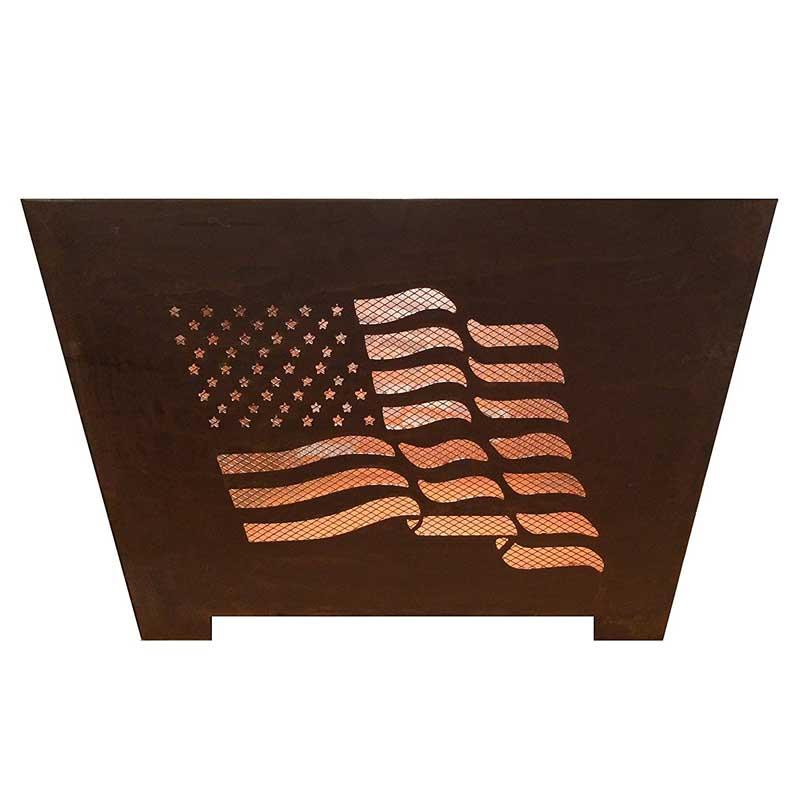 Old Glory 24 In.X 16 In.Fire Pit