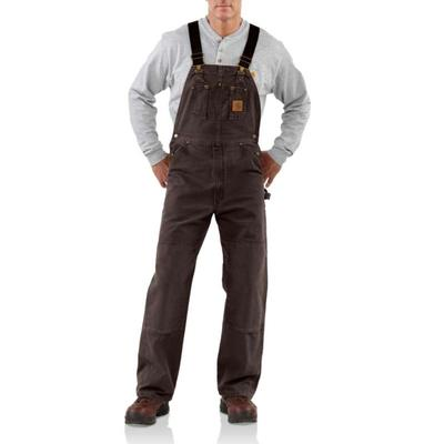 Men's Sandstone Bib Overall/Unlined