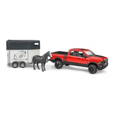 Ram 2500 Power Pick Up W/Horse Trailer