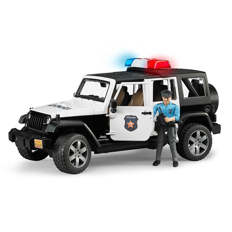 Jeep Wrangler Unlimited Rubicon Police